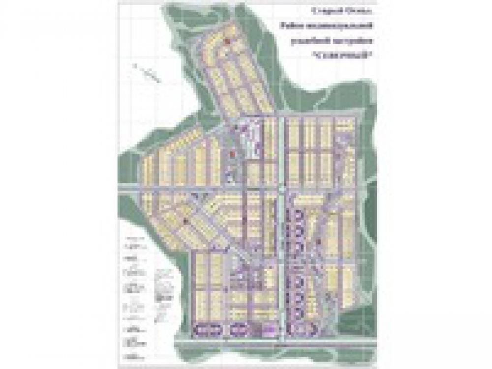 Проектирование района в г. Старый Оскол