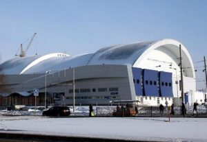 Проект ледового дворча в Набережные Челны