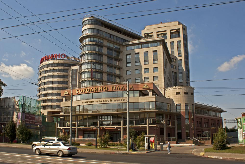 Проектирование для бизнес-центра Бородино Плаза г. Москва