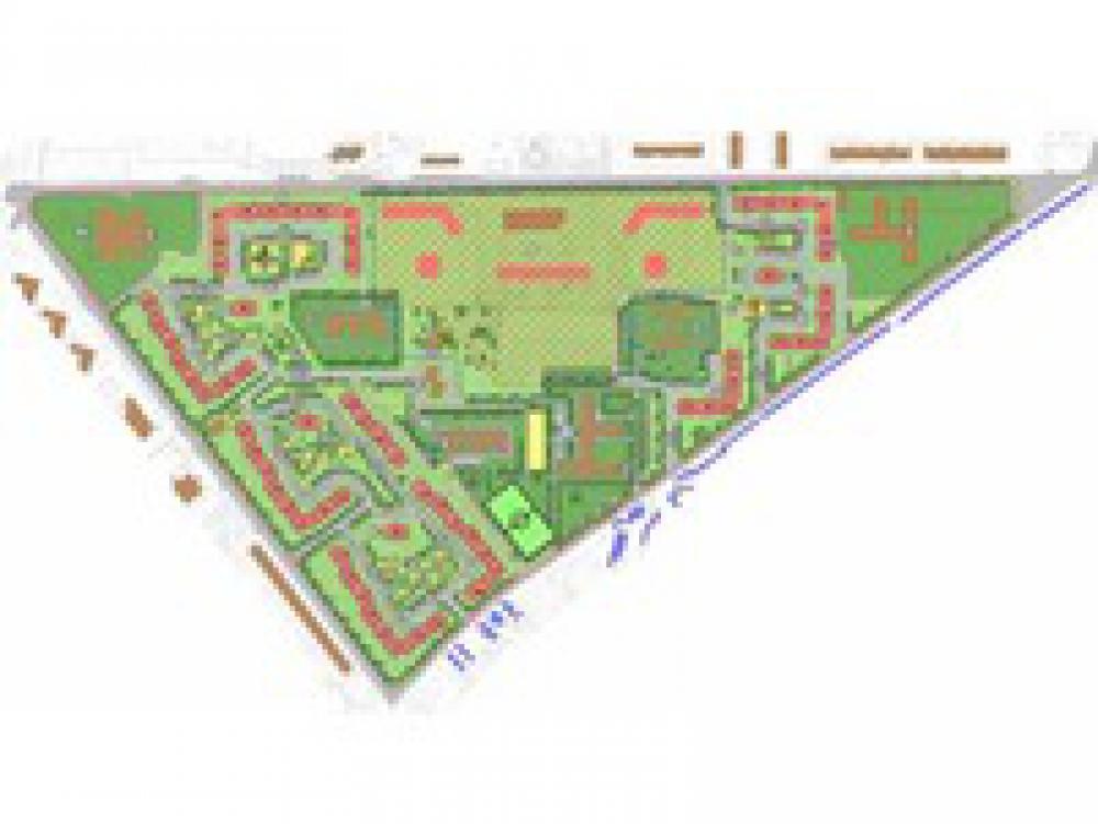 Разработка ППТ для территории микрорайонов № 5, 6