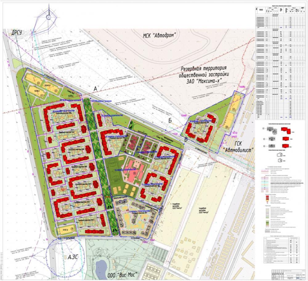 Разработка ППТ для микрорайона «Запад 1» Ульяновск