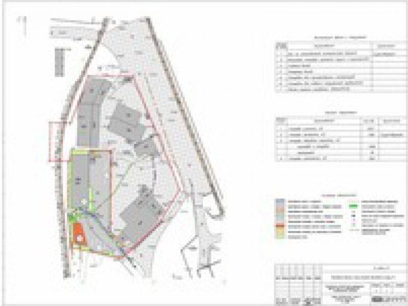 Проект планировки территории промышленного здания цеха