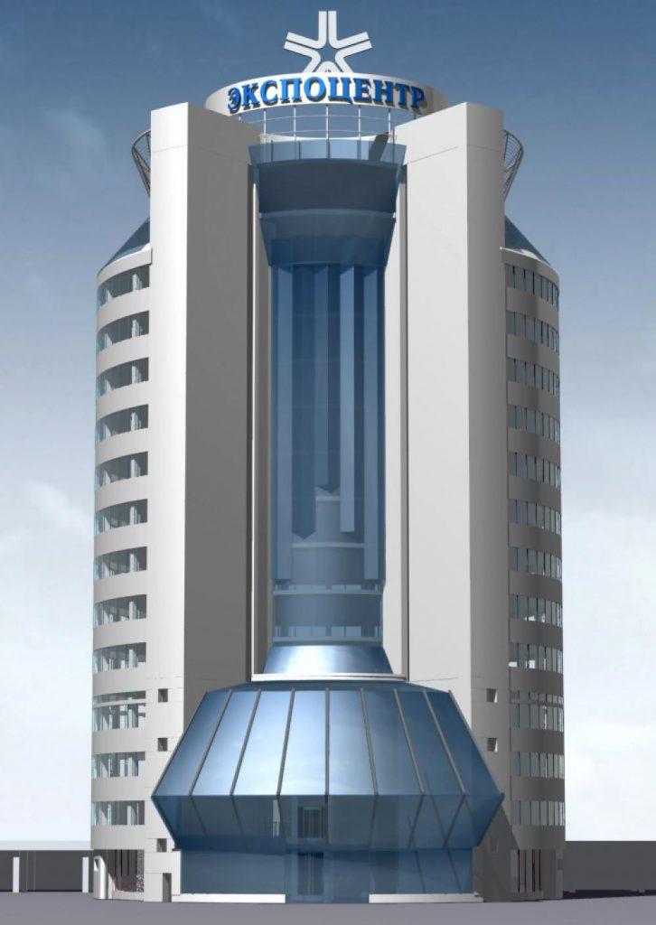 Проектирование выставочного комплекса Экспоцентра