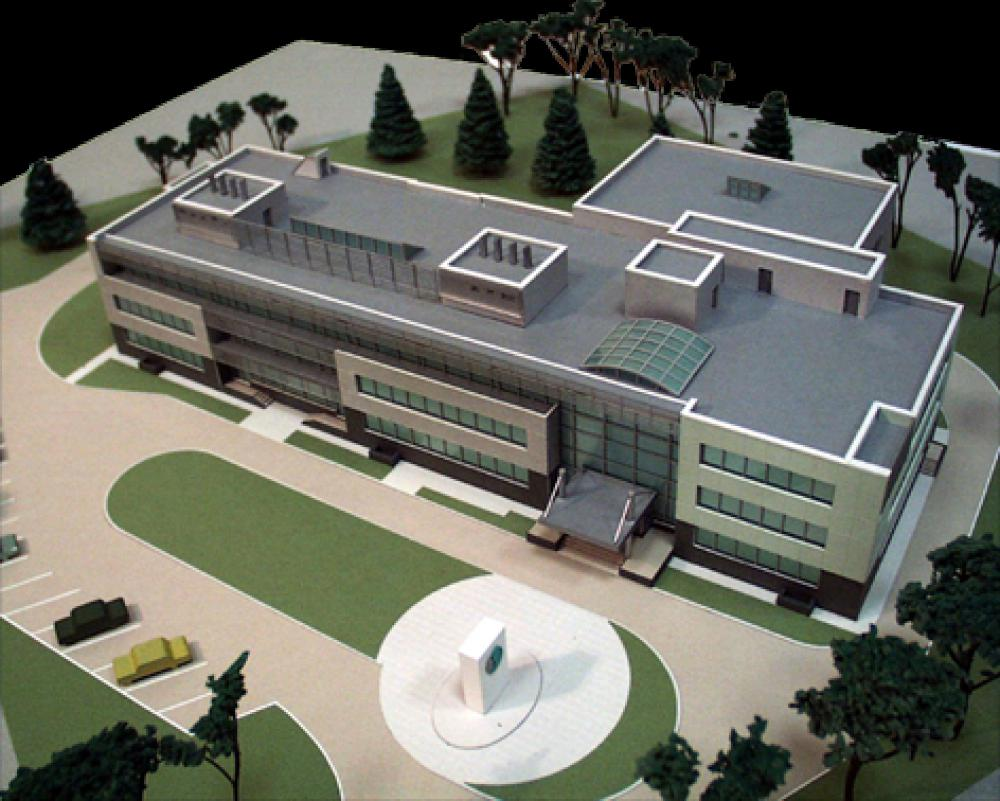 Проект офисного здания фирмы «Солвалюб трейдинг ЛТД», г. Москва
