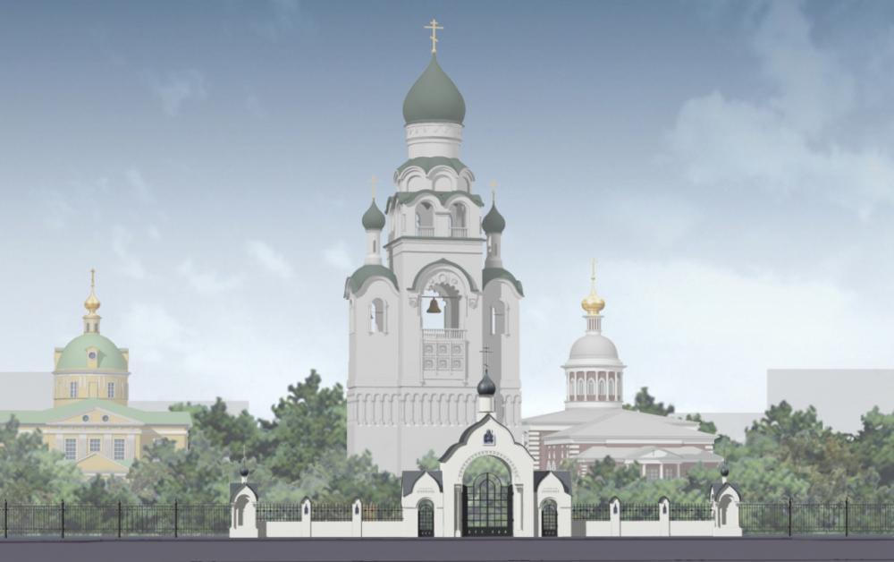 Проект реконструкции территории историко-архитектурного ансамбля