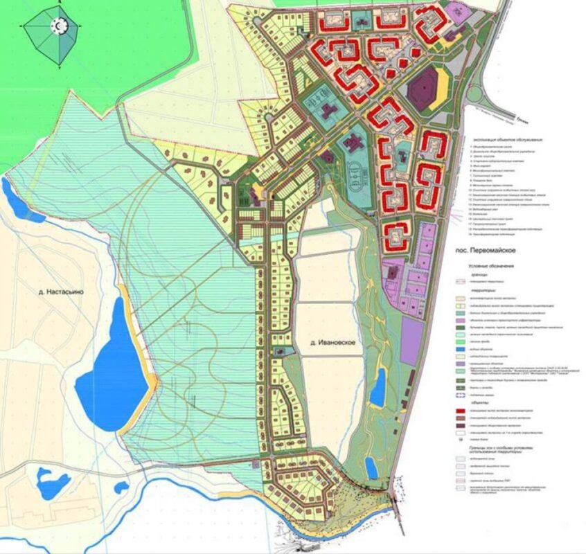Комплексное проектирование жилого микрорайона «Ново-Никольское»