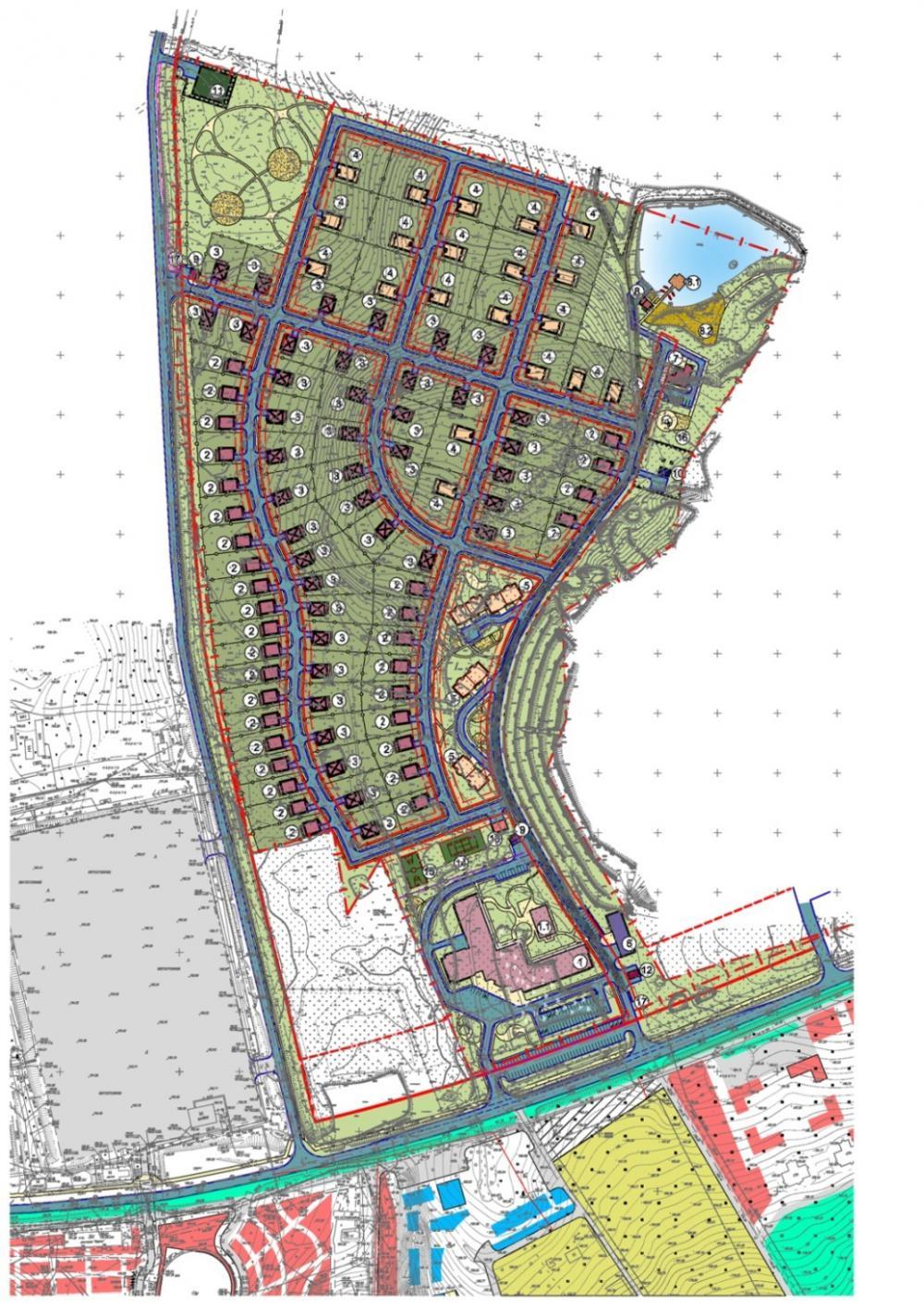 Разработка ППТ под размещение гостиничного комплекса «Жемчужное Озеро» в Московской области