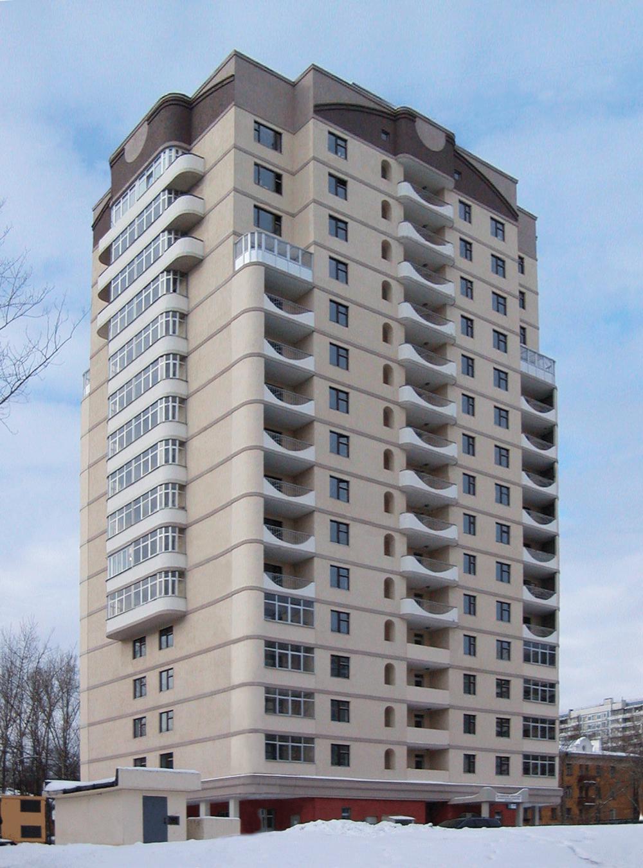 Проектирование многоэтажного жилого дома в г. Москве