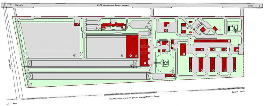 Разработка проекта планировки территории для склада хранения