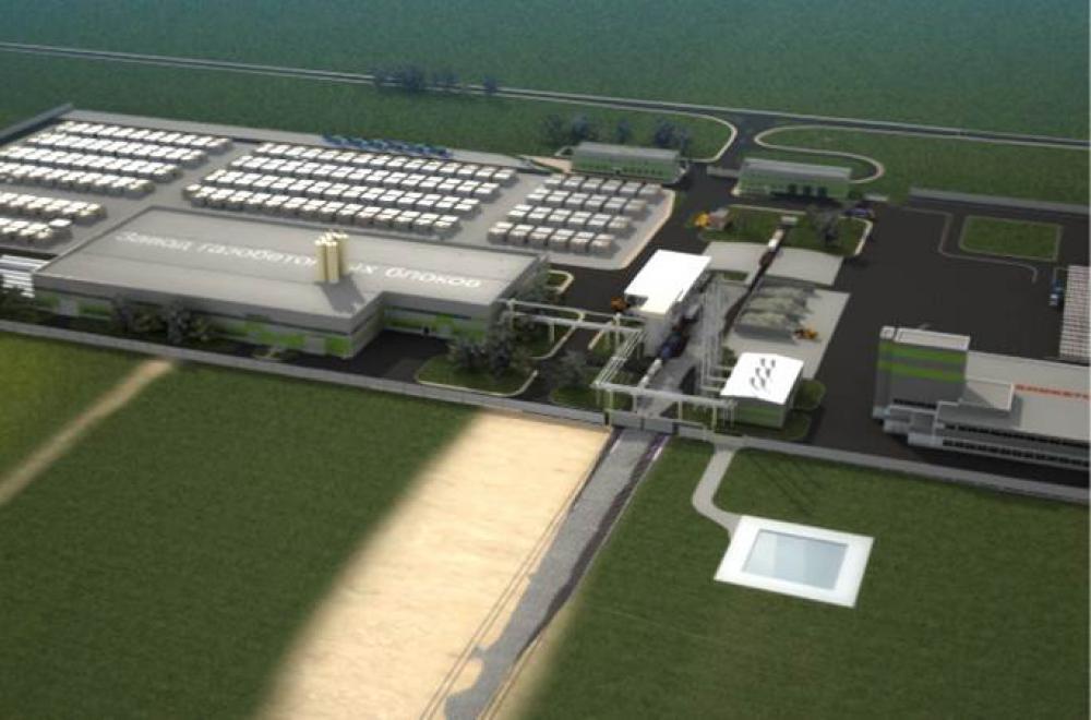 Проектирование завода по производству газобетонных блоков