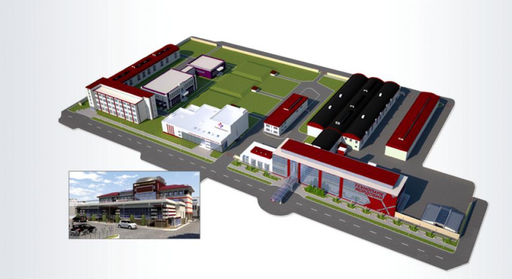 Разработка СТУ на технопарк Мордовия