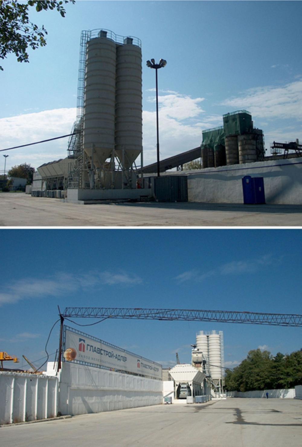 Проект бетоносмесительного узла на Адлерском заводе железобетонных изделий