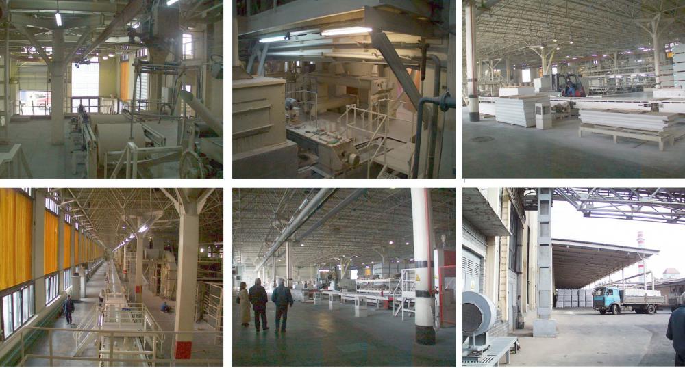 Проектирование промышленных зданий по производству гипсокартонных листов