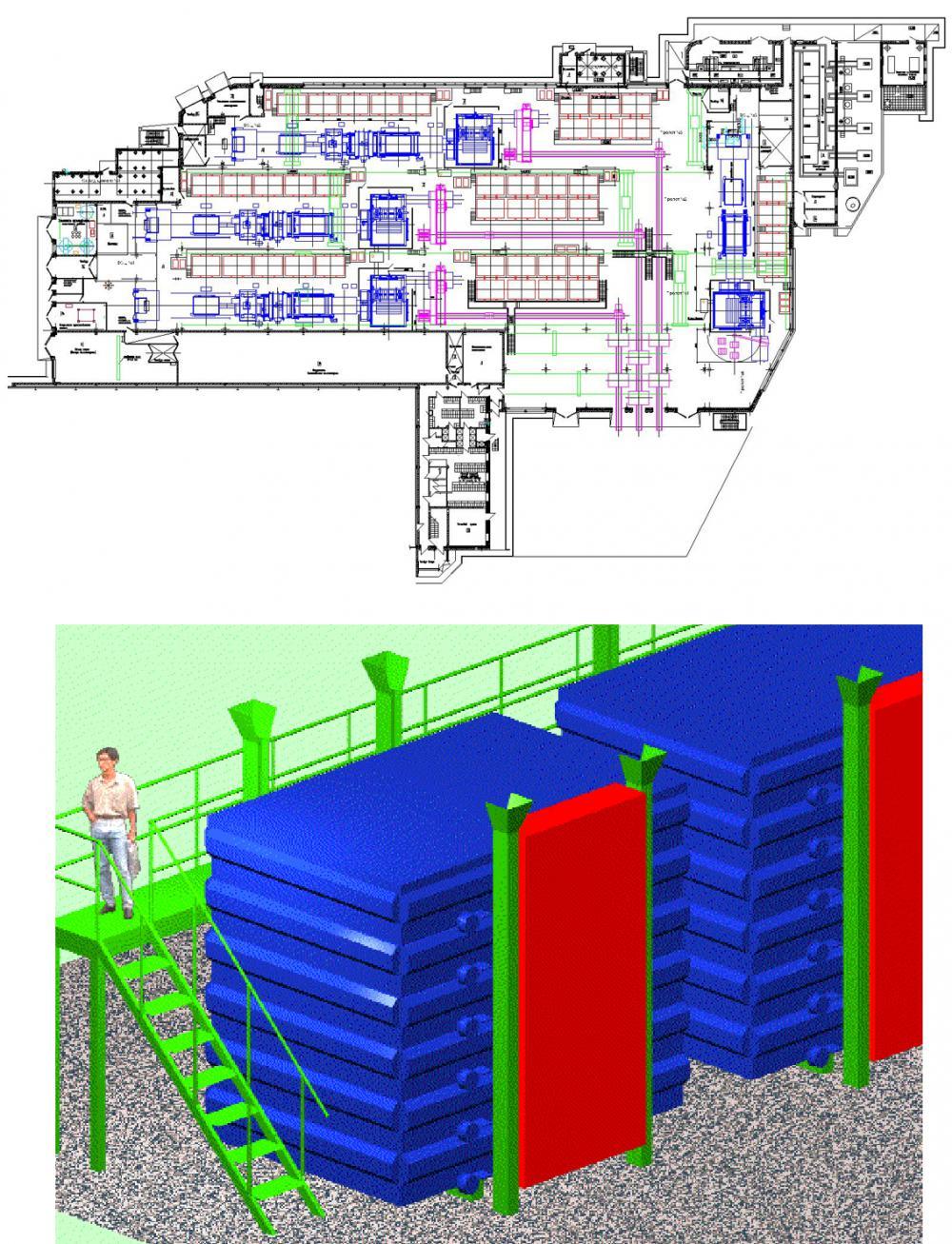 Проектирование промышленных зданий по производству полистиролбетонных блоков