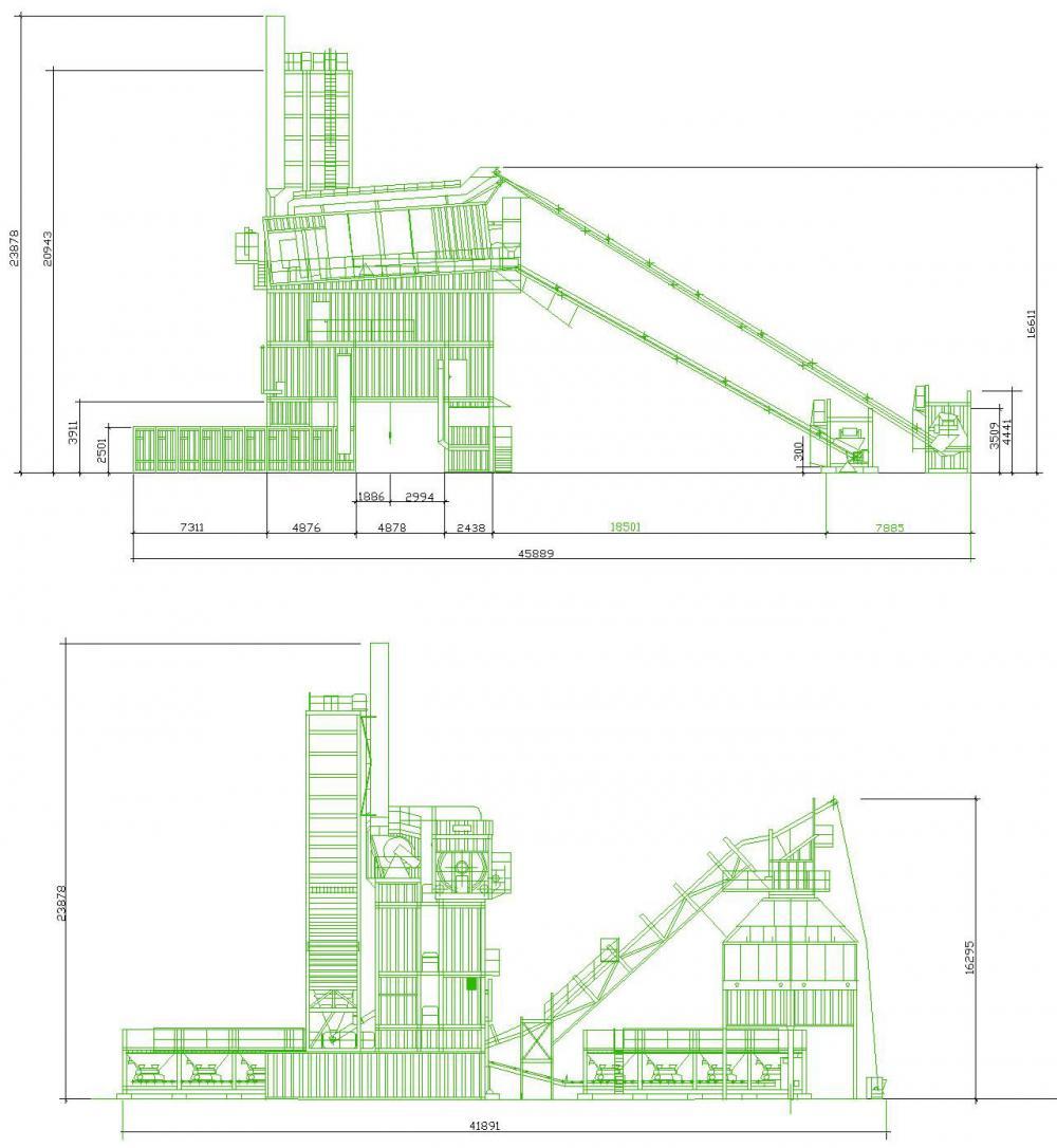 Разработка проекта завода  по производству асфальтобетона в Москве