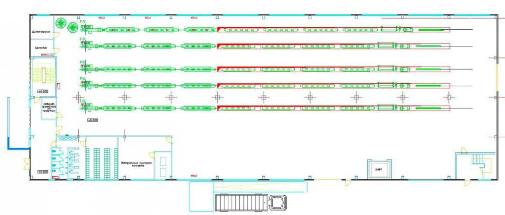 Проектирование промышленных зданий по производству полимерных труб