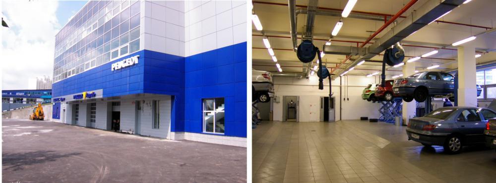 Проектирование для «Станция технического обслуживания легковых автомобилей»