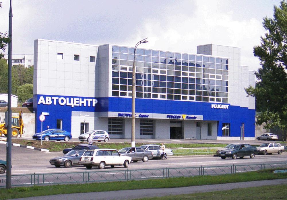 Проектирование для  станции технического обслуживания «PEUGEOT»