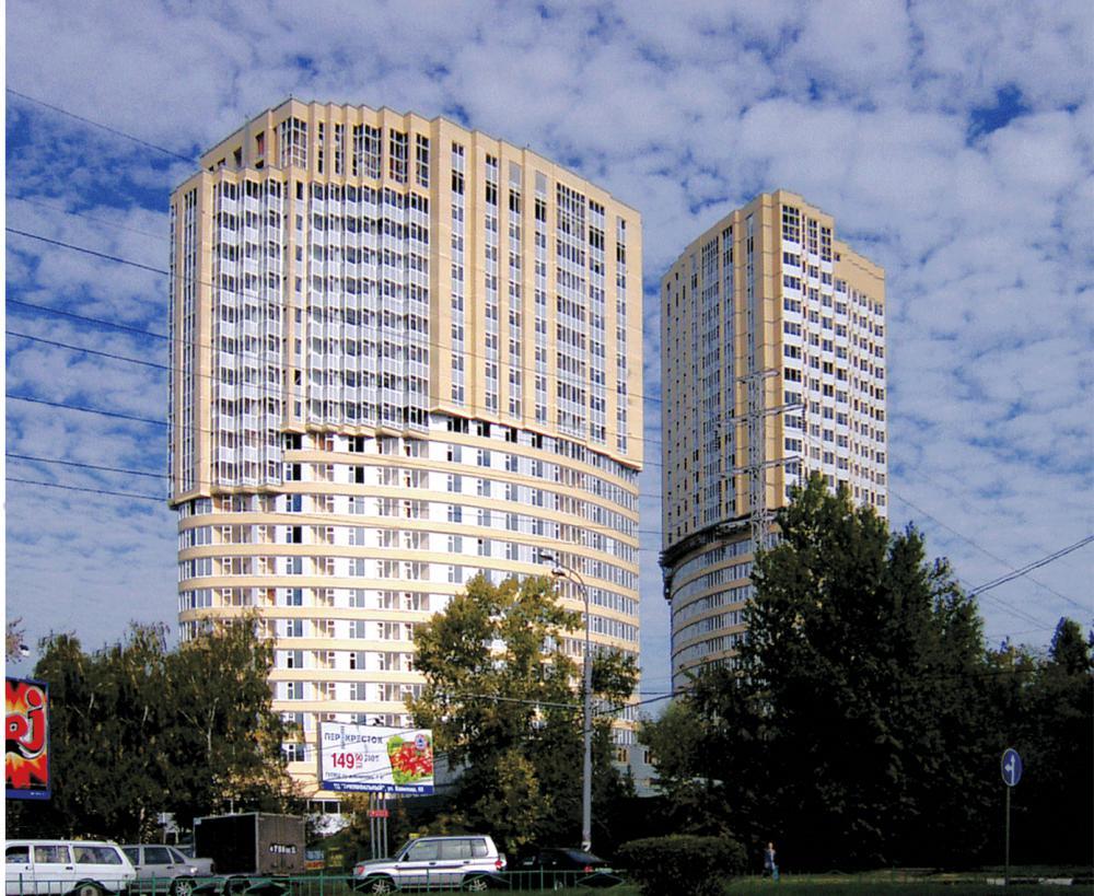 Проектирование для многофункционального жилого комплекса