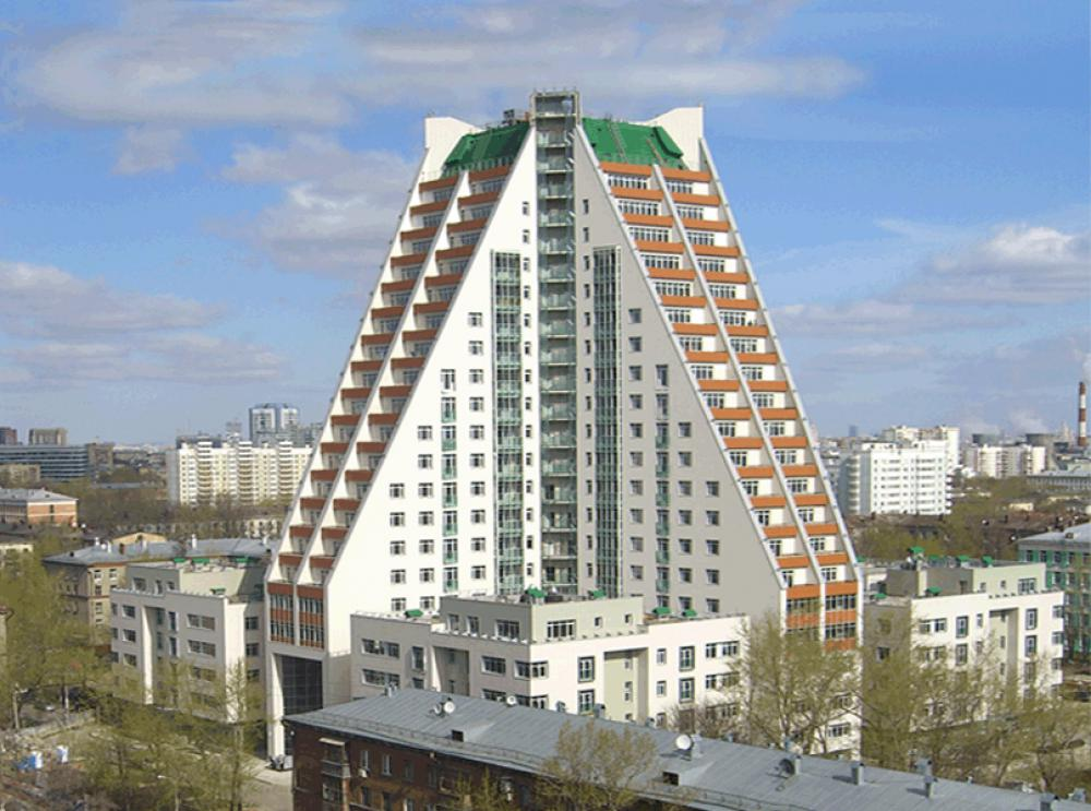Проект жилого комплекса в Москве
