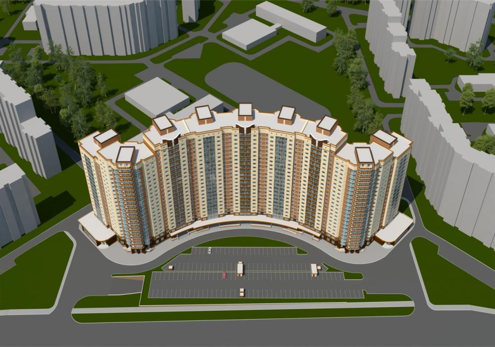 Разработка проекта для многоэтажного жилого дома в Подольске