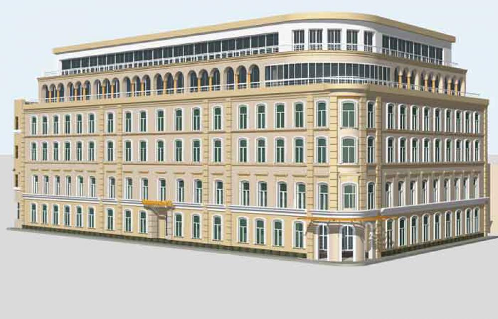 Проектирование для поликлиники (историческая зона, центр Москвы)