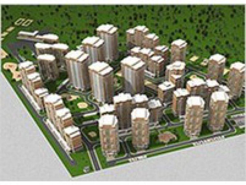 Проектирование жилых и общественных зданий микрорайона «Марьино» в Москве
