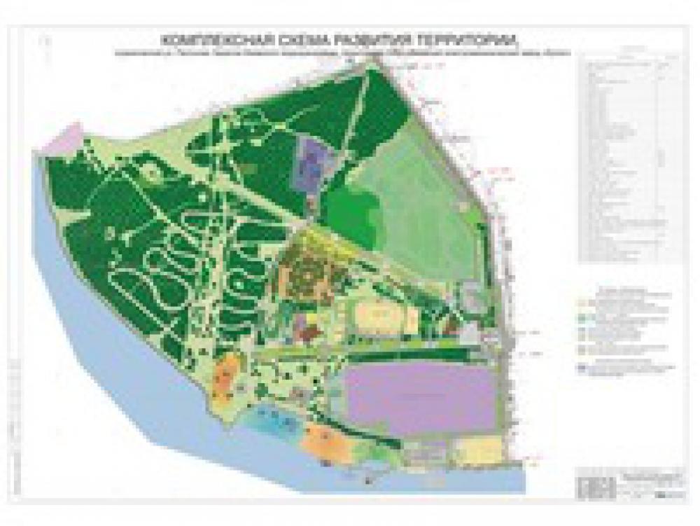 Разработка ППТ для планировки территории парка