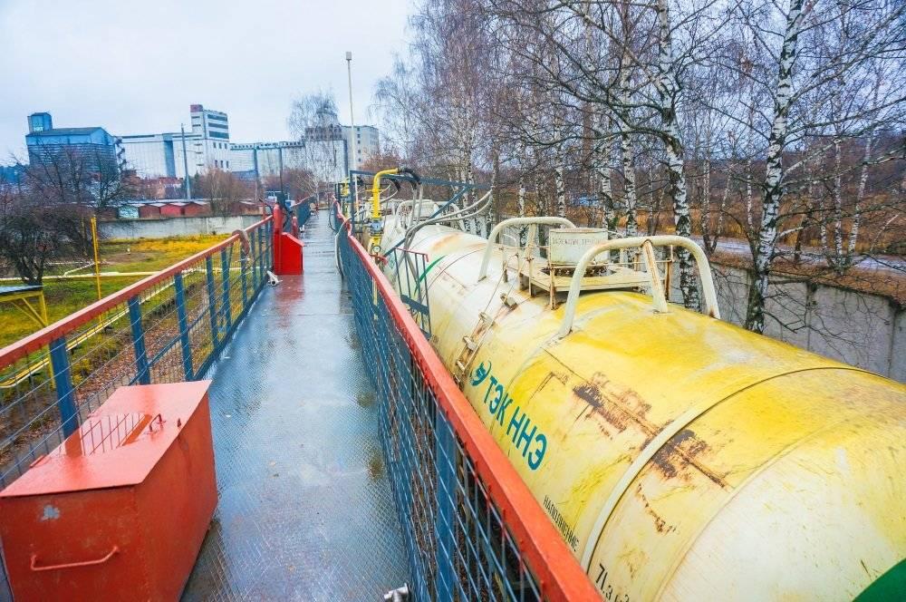 Разработка СТУ на реконструкцию ПТК Пушкинская ГРС Московская область