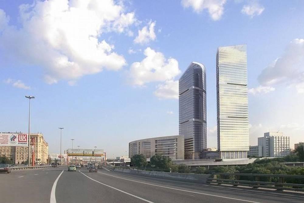 Административно-торговый комплекс в Москве