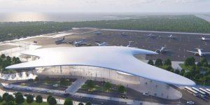 Новый аэровокзальный комплекс в аэропорту Геленджик