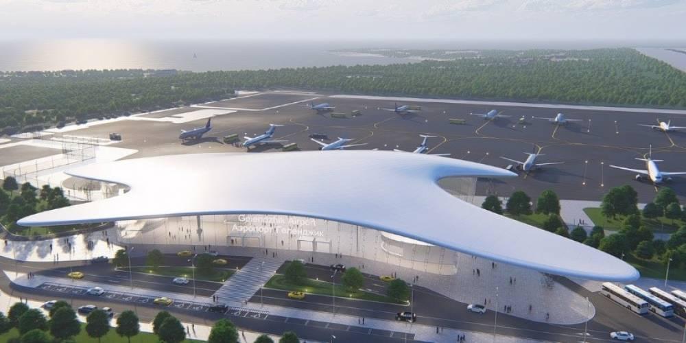СМИС аэровокзального комплекса в аэропорту Геленджика