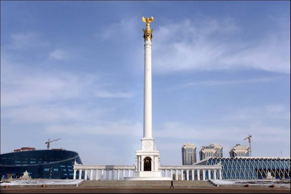 Разработка СМИК на Монумент «Казак Елi» (Независимости) в г. Астане.