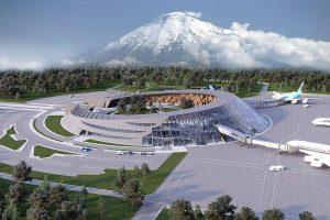 Новый аэровокзальный комплекс в аэропорту Петропавловск-Камчатский