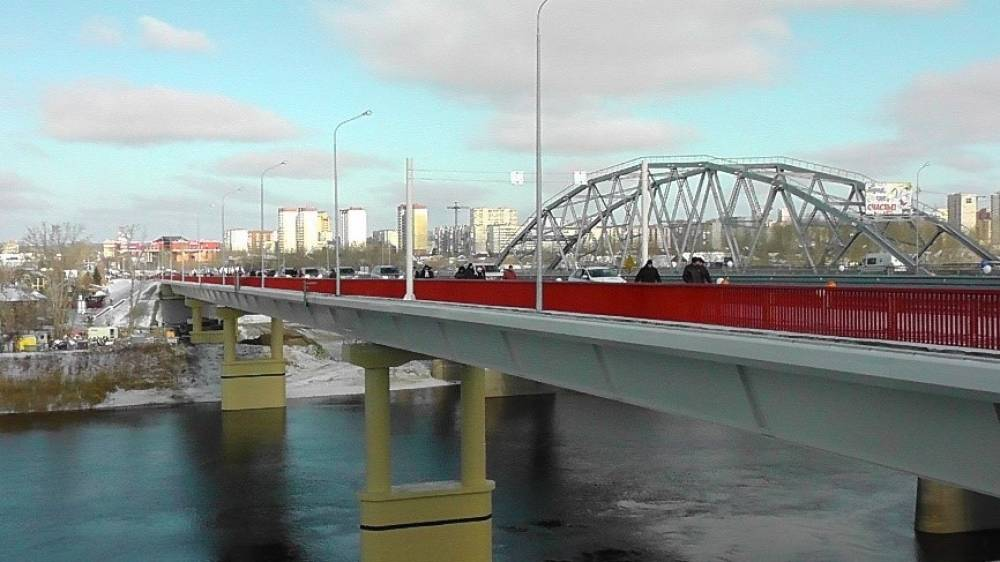 СМИК Мост через р. Тура в городе Тюмень
