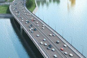 Мостовой переход через р.Москву