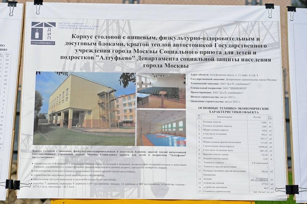 СТУ по ПБ для  «Алтуфьево»