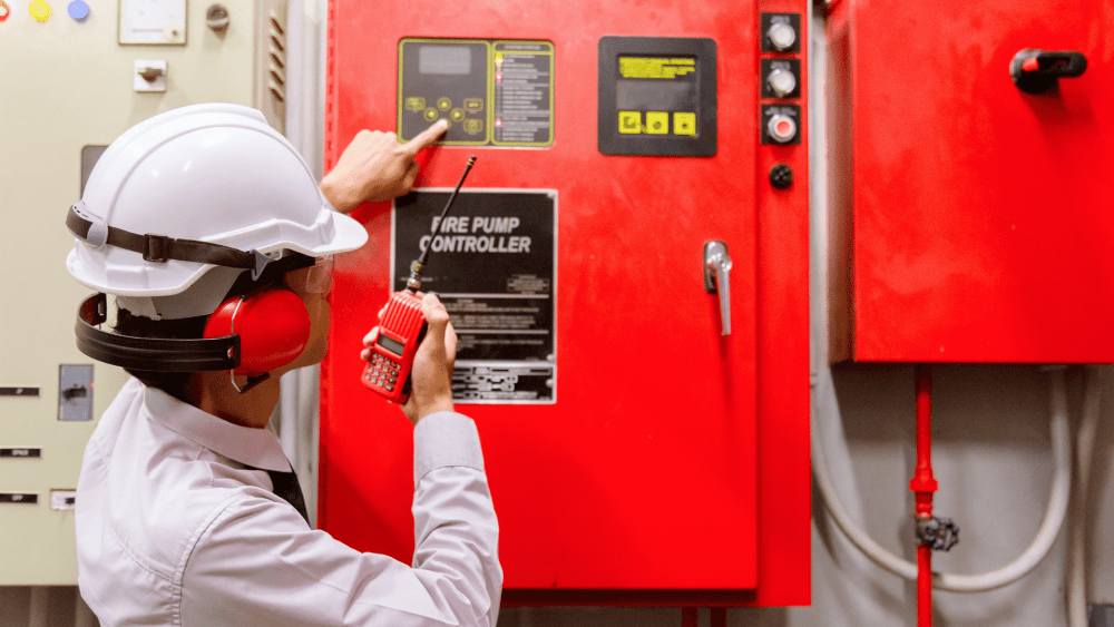 Противопожарная безопасность промышленных объектов