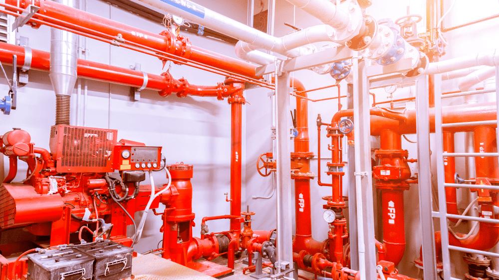 Обеспечение пожарной безопасности зданий – размещение оросителей