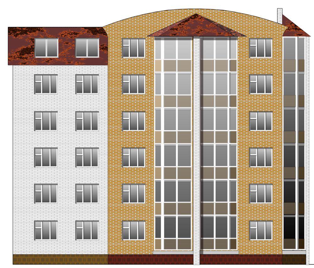 Проектирование жилого 6-тиэтажного односекционного дома