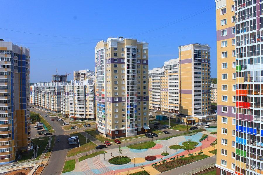 Проектирование жилых зданий микрорайона «Радужный»