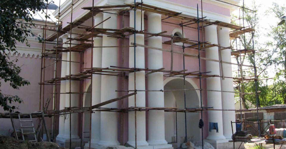Ремонт и консервация как виды работ по реставрации памятников