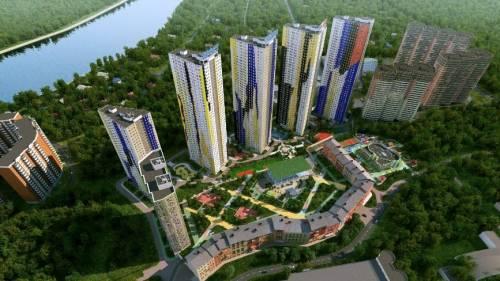 СМИС Группа многоэтажных жилых домов в Московской области